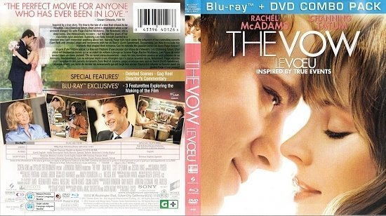 dvd cover The Vow Le Voeu