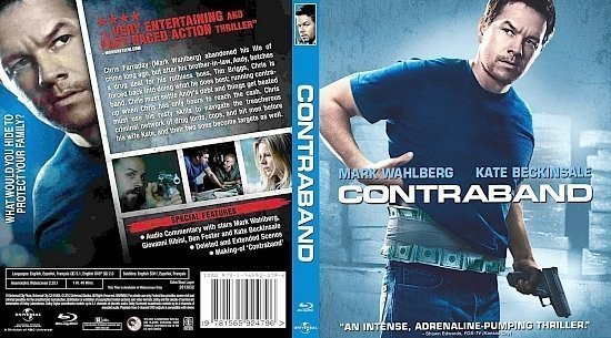 dvd cover Contraband 2012 BD