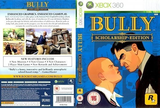dvd cover Bully (2008) Pal Xbox 360
