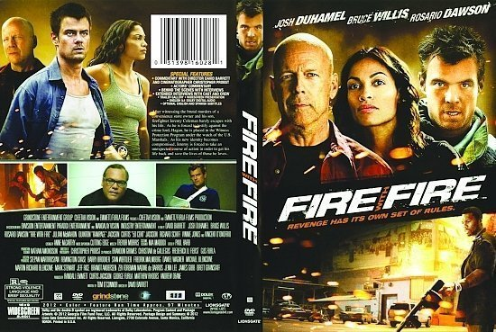 dvd cover Fire With Fire R1