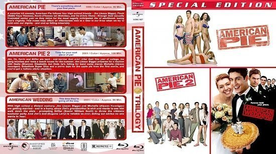 dvd cover American Pie Triple BR
