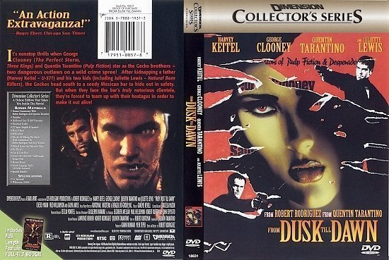 dvd cover From Dusk Till Dawn (1996) WS CE R1