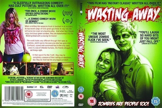 dvd cover Wasting Away (2009) R2