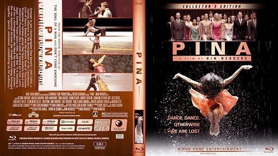 dvd cover Copy of Pina Blu Ray 2012