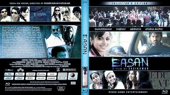 dvd cover Copy of Easan Blu Ray 2012