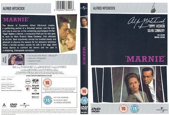 dvd cover Marnie (1964) R2