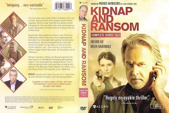 dvd cover Kidnap And Ransom: Complete series R1