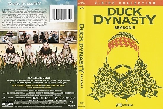 dvd cover Duck Dynasty: Season 5 R1