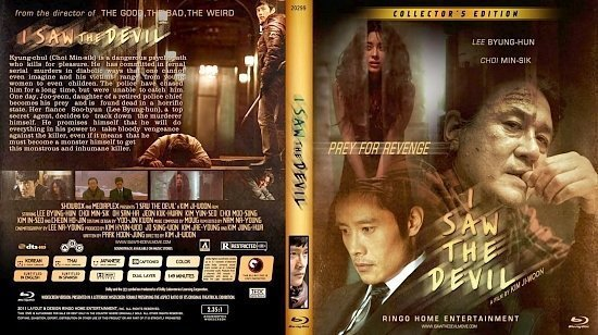dvd cover Copy of I Saw The Sevil Blu Ray 2012a