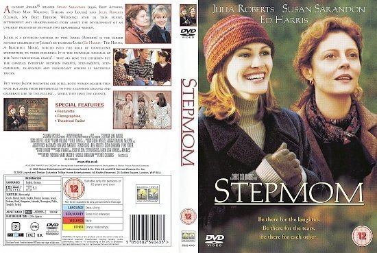 dvd cover Stepmom (1998) R2