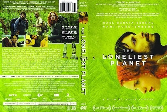dvd cover The Loneliest Planet (2011) R1