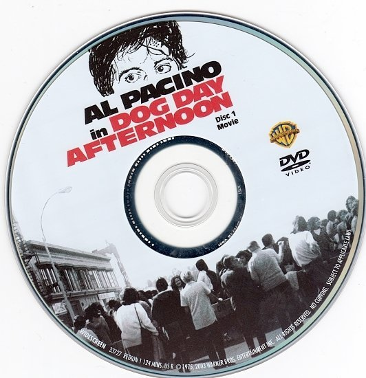 dvd cover Dog Day Afternoon (1975) WS R1
