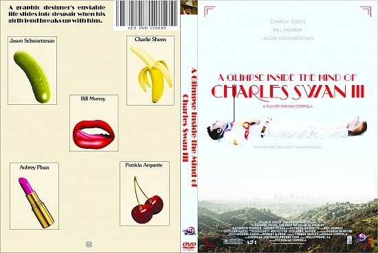 dvd cover A Glimpse Inside the Mind of Charles Swan III R0 Custom