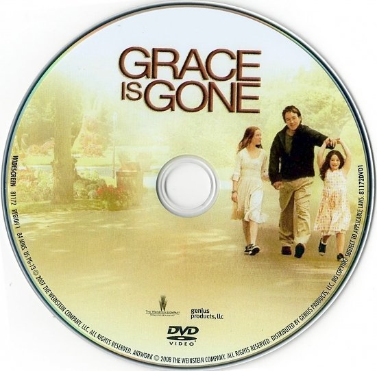 dvd cover Grace Is Gone (2007) WS R1