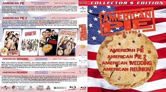 dvd cover American Pie Collection