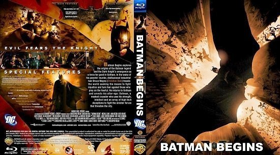 dvd cover BATMAN BEGINS3