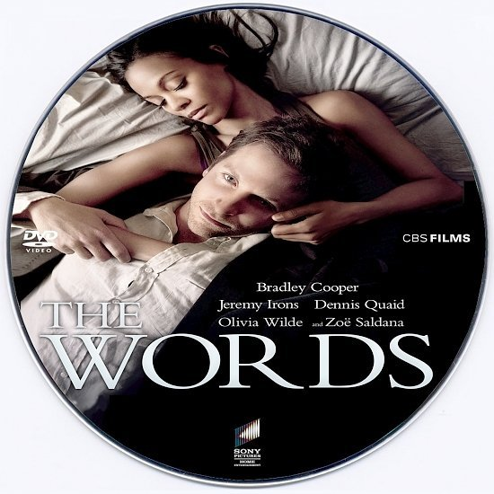 dvd cover The Words R0 Custom DVD Label