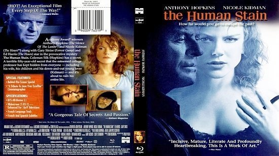 dvd cover The Human Stain