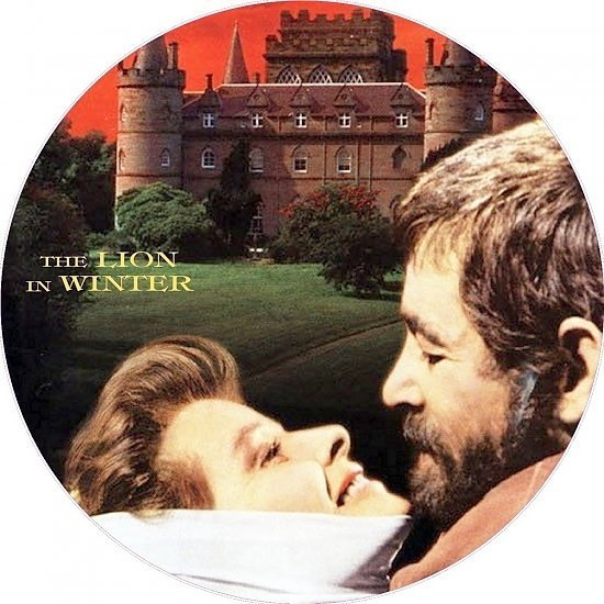 dvd cover The Lion in Winter (1968) WS R1