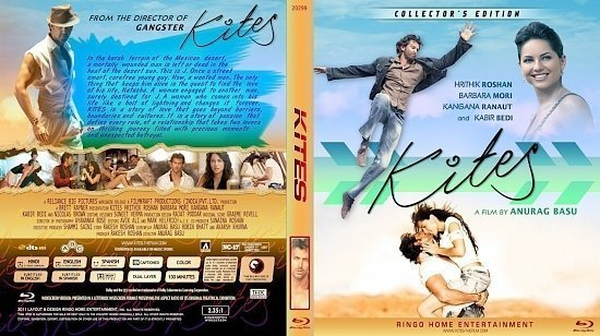 dvd cover Copy of Kites Blu Ray 2012