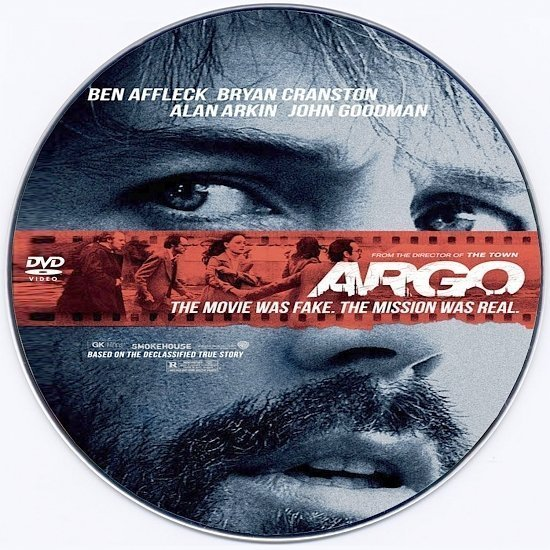 dvd cover Argo R0 Custom DVD Label