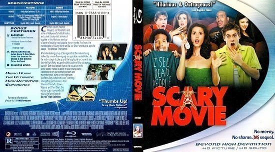 dvd cover Scary Movie