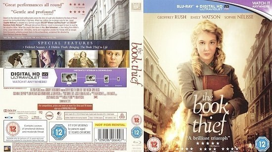 dvd cover The Book Thief