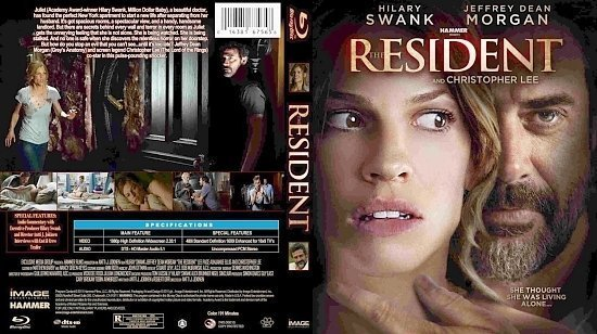 dvd cover The Resident