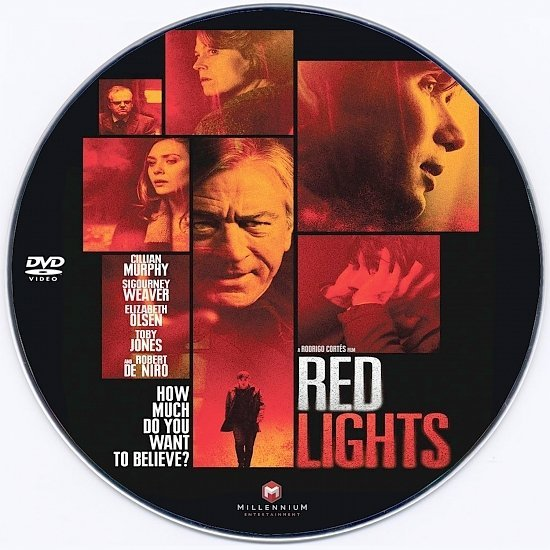 dvd cover Red Lights - CD Label