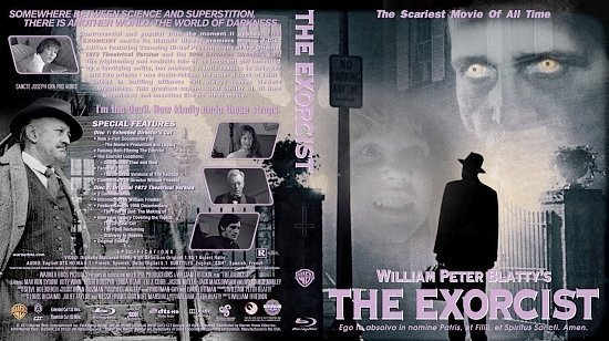 dvd cover The Exorcist