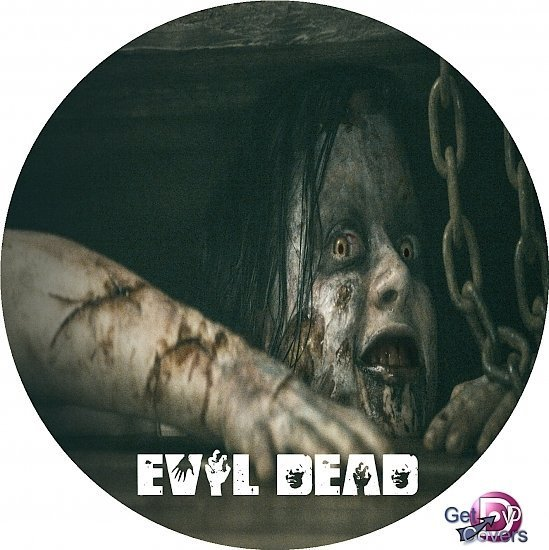 dvd cover Evil Dead R0 Custom