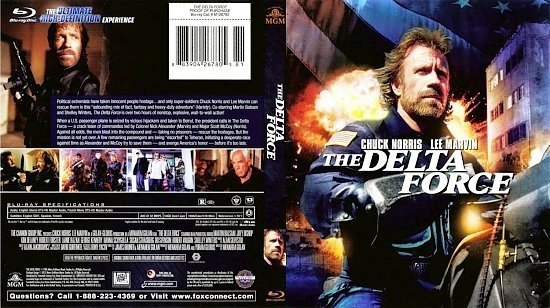 dvd cover The Delta Force