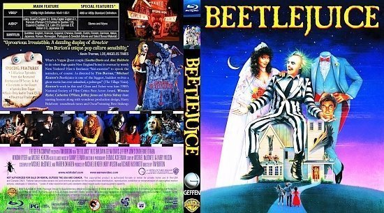 dvd cover BEETLEJUICE2