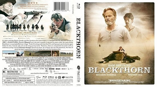 dvd cover Blackthorn