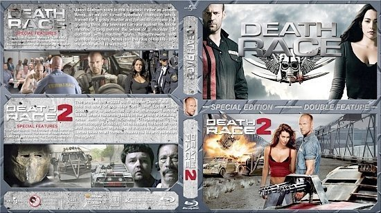 dvd cover Death Race Double Feature