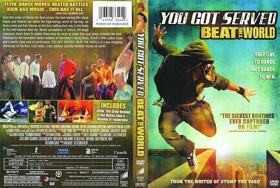 dvd cover You Got Served: Beat The World (2011) R1