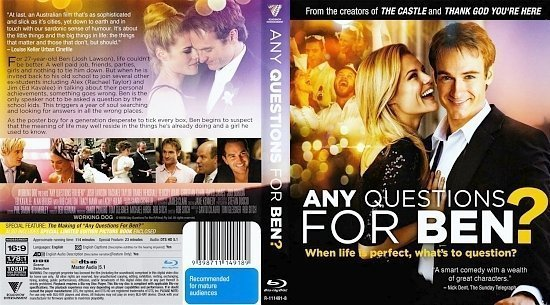 dvd cover Any Questions For Ben