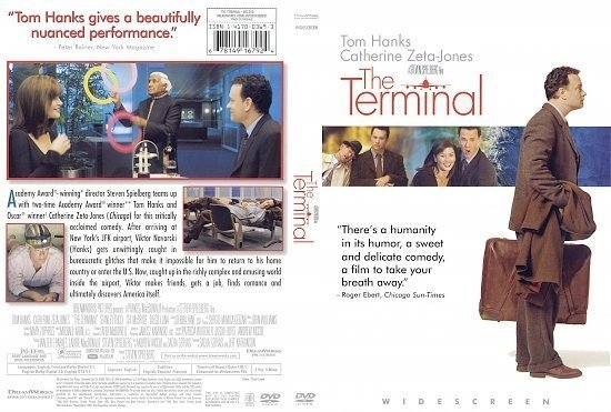 dvd cover The Terminal (2004) R1