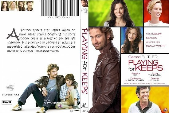dvd cover Playing for Keeps R0 Custom