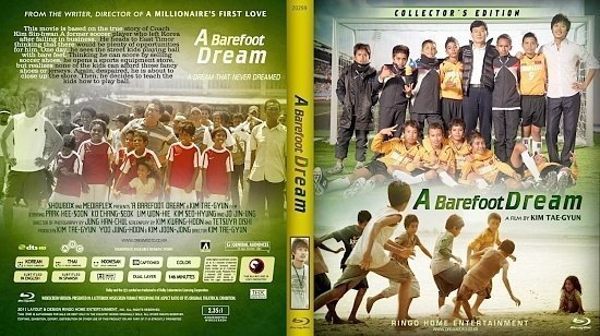 dvd cover Copy of A Barefoot Dream Blu Ray 2012