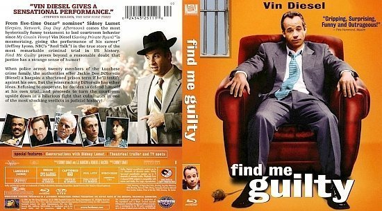 dvd cover Find Me Guilty