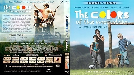 dvd cover Copy of The Colors Of The Moutain Blu Ray 2012