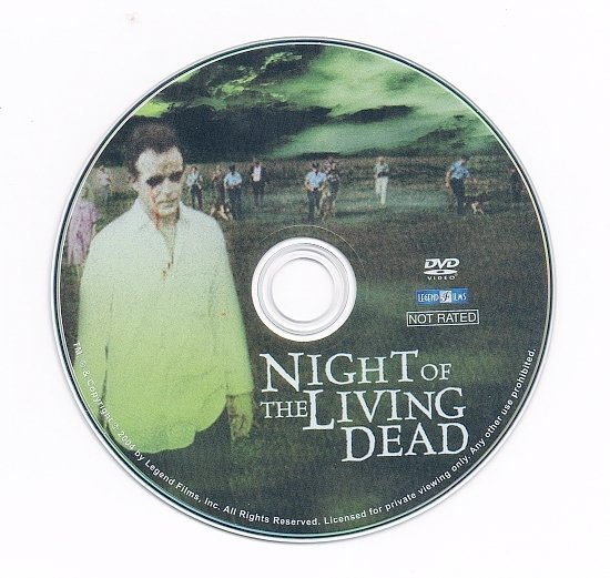 dvd cover Night of the Living Dead (1968) FS R1