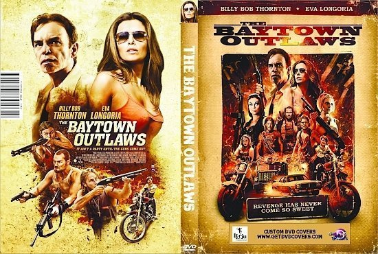dvd cover The Baytown Outlaws R0 Custom