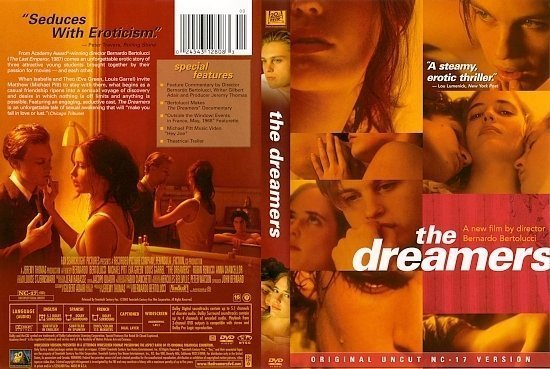 dvd cover The Dreamers (2003) WS R1