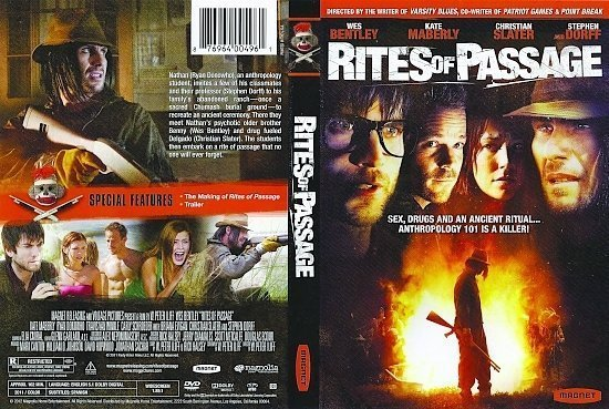 dvd cover Rites Of Passage R1