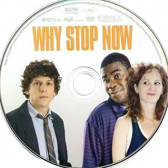 dvd cover Why Stop Now R1