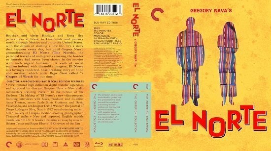 dvd cover El Norte