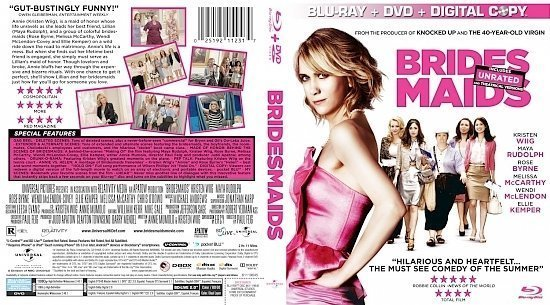 dvd cover Brides Maids