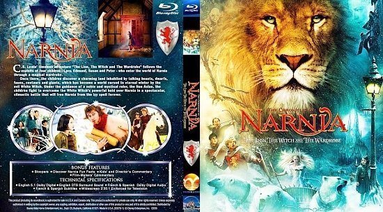 dvd cover CHRONICLES of NARNIA